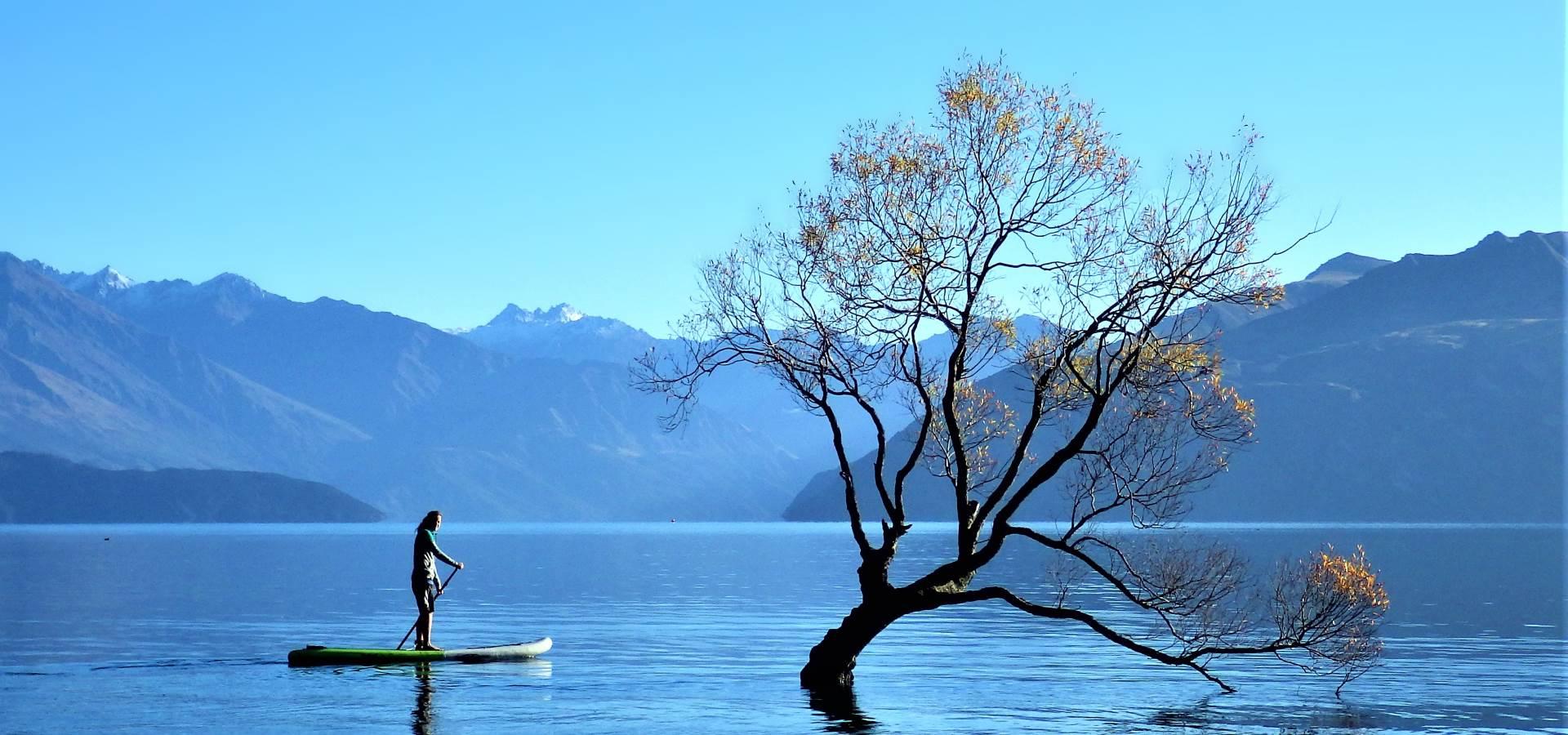 Wanaka Paddle Boarding